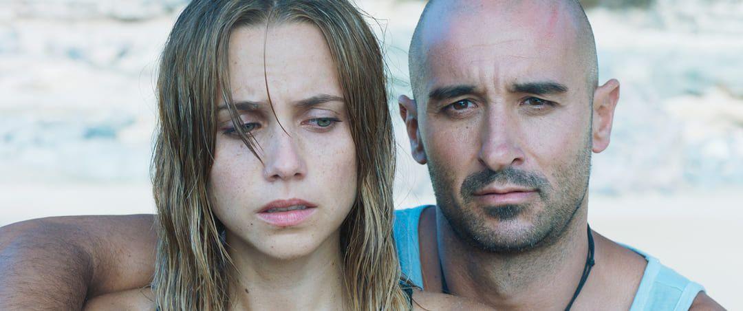 Aura Garrido y Alain Hernández en esta película de supervivencia