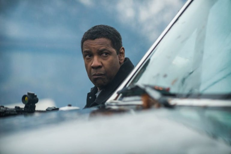 """Denzel Washington en la película """"The equalizer 2"""""""