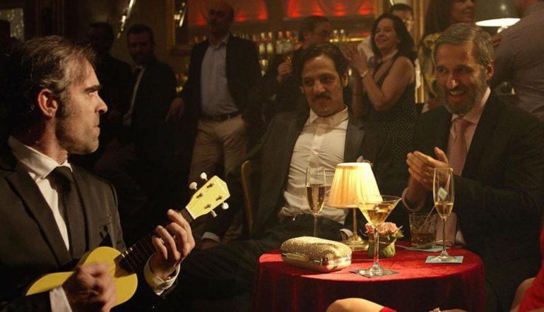 Luis Tosar y Rodrigo de la Serna en la película Yucatán