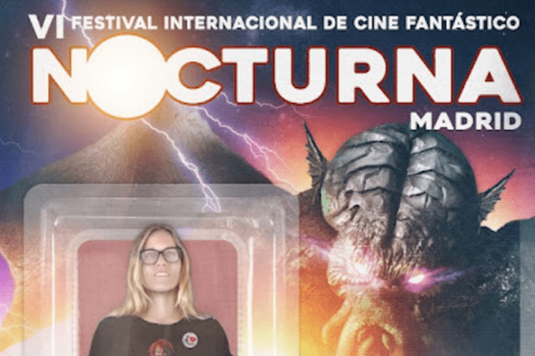 Cartel del Festival Nocturna Madrid 2018