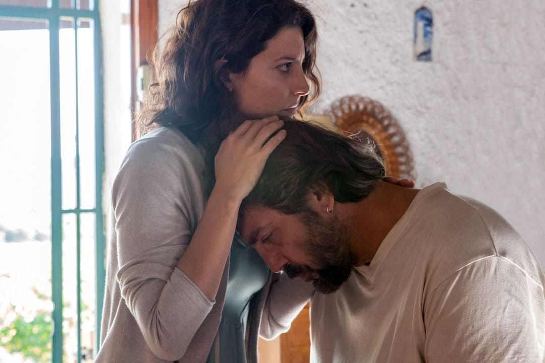 Bárbara Lennie y Javier Bardem en una escena