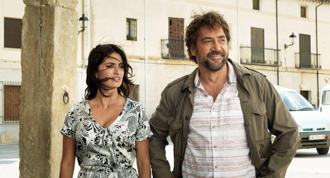 Javier Bardem y Penélope Cruz en la película