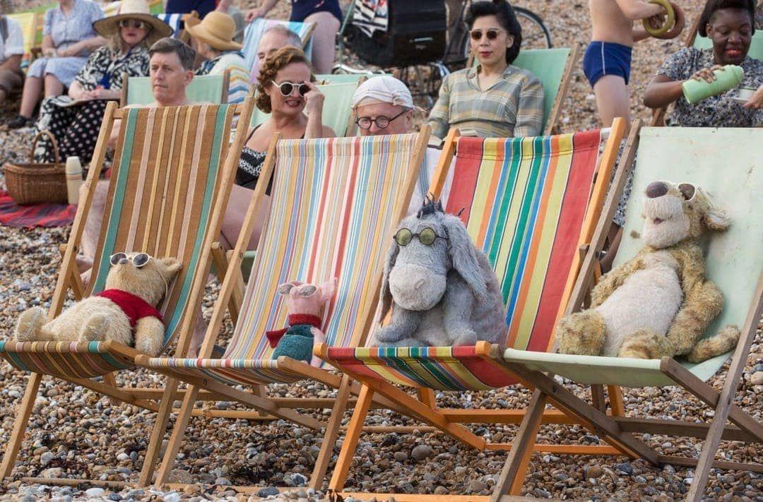 Winnie the Pooh and company en la película