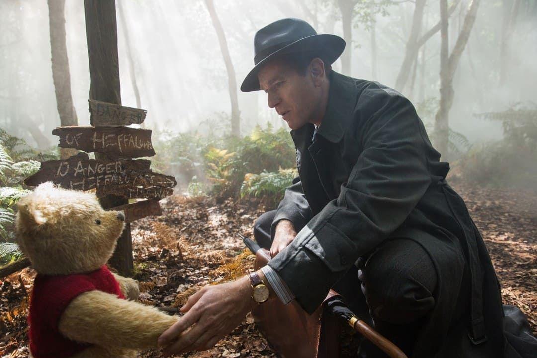 Christopher Robin (Ewan McGregor) en la película