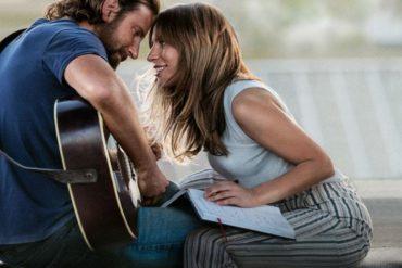 """Bradley Cooper y Lady Gaga en """"Ha nacido una estrella"""""""