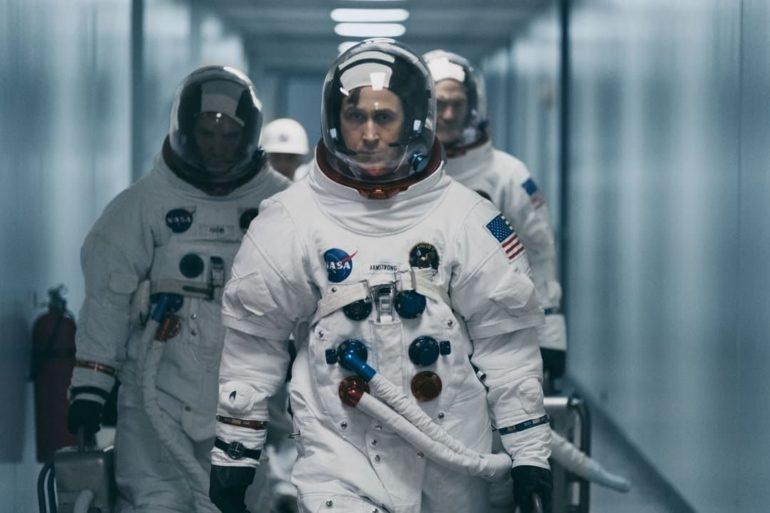 Ryan Gosling en la película El primer hombre