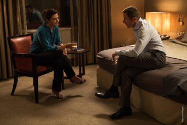 Antonio de la Torre y Bárbara Lennie en la película El Reino