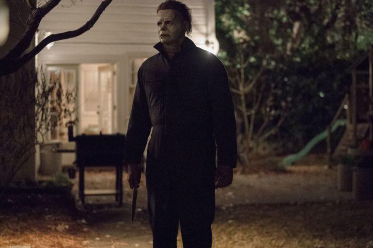 Michel Myers en la película La noche de Halloween (2018)