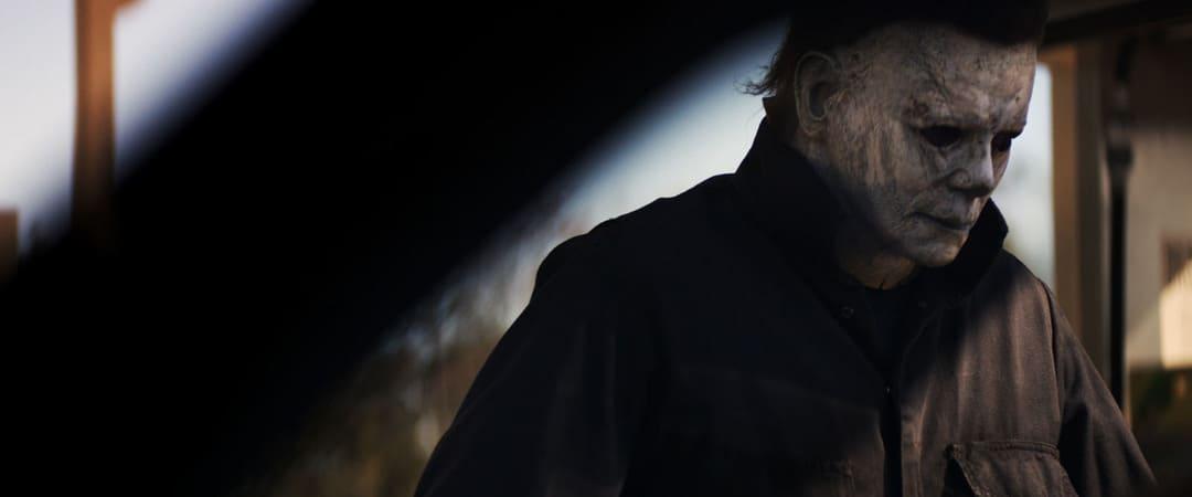 El mismísimo Michel Myers paseándose en la tarde de Halloween