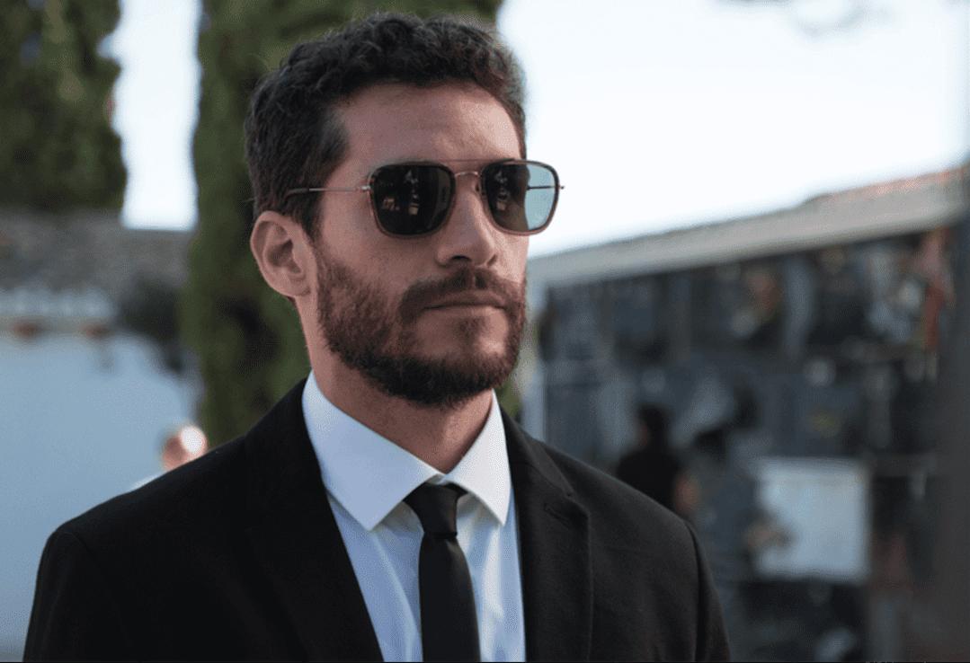 """Michel Noher en la película """"El desentierro"""""""