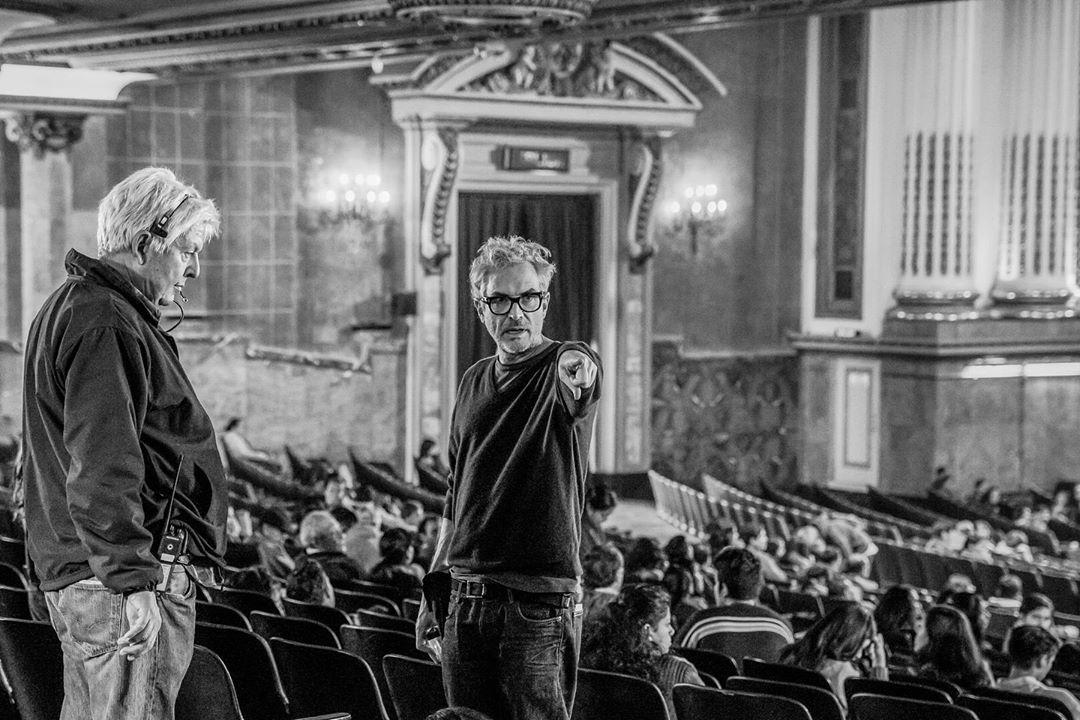 Alfonso Cuarón en Roma 2018 de Netflix - Crítica de la película