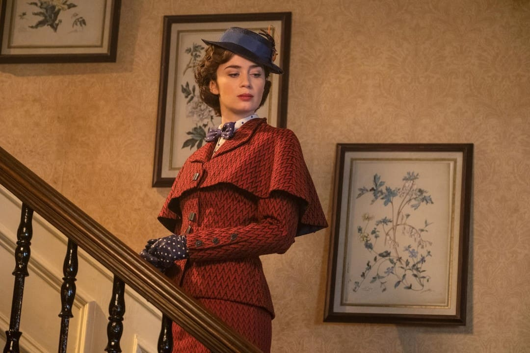 Emily Blunt es Mary Poppins