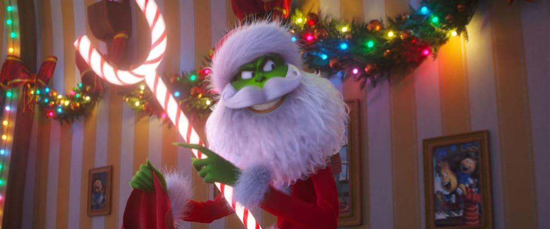 El Grinch quiere robar la Navidad a sus vecinos