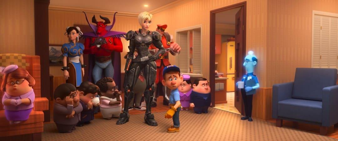 """Todos los personajes de """"Ralph rompe Internet (2018)"""""""