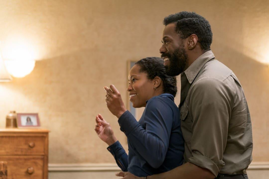Colman Domingo y Regina King en una escena de la película