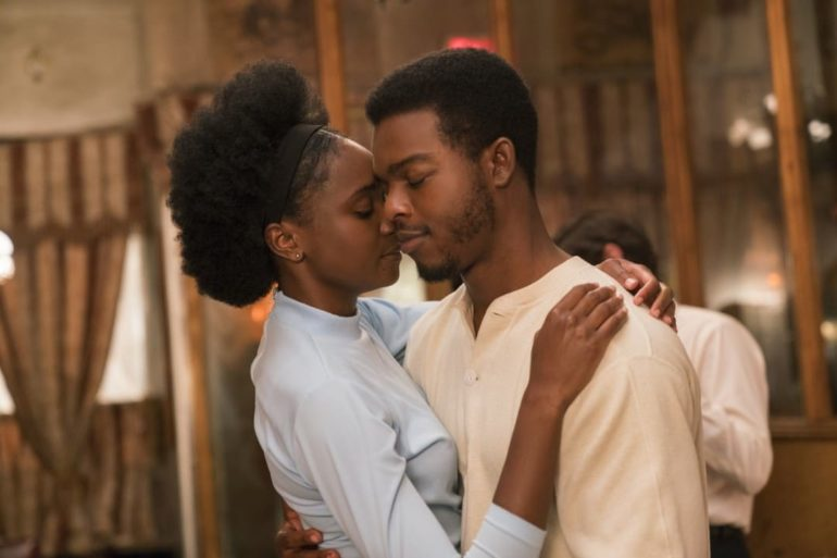 KiKi Layne y Stephan James en El Blues de Beale Street