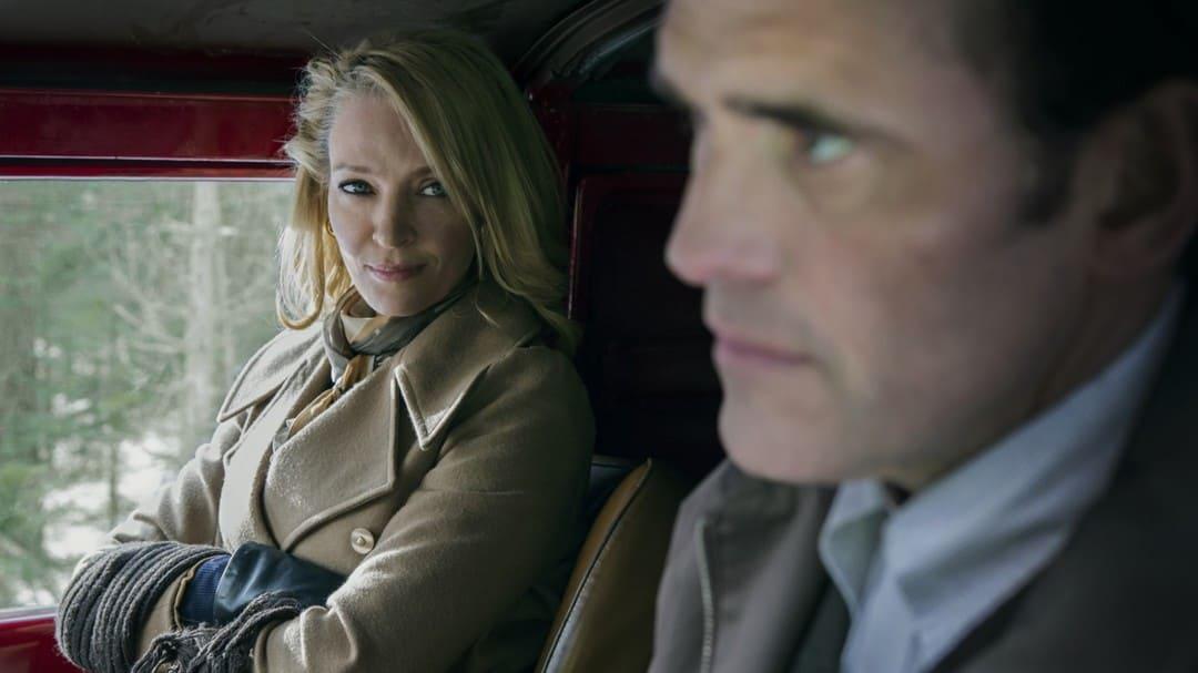 Matt Dillon y Uma Thurman en La casa de Jack