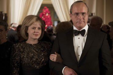 """Amy Adams y Christian Bale en la película """"El vicio del poder"""""""