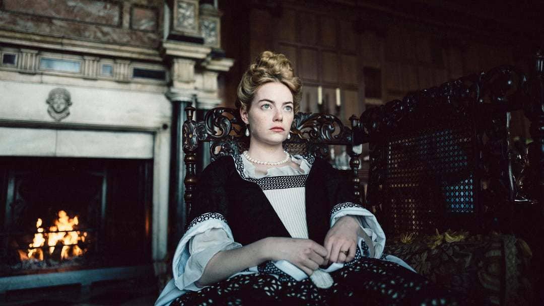 "Emma Stone es Abigail en ""La favorita"""