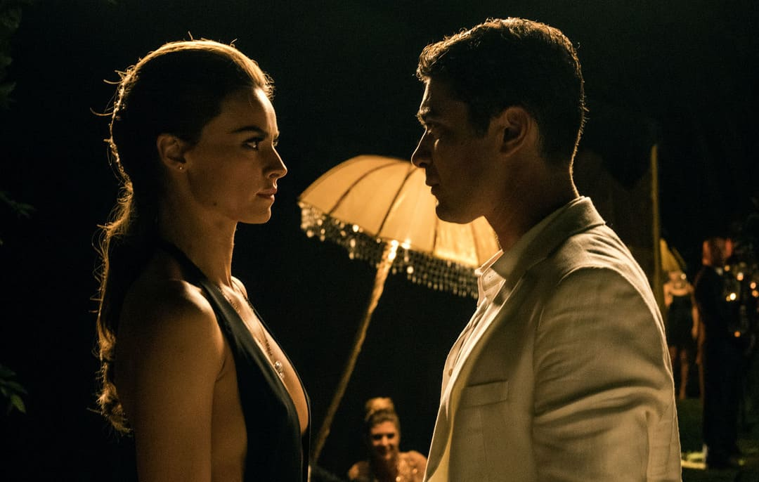 Kasia Smutniak y Riccardo Scamarcio en la película