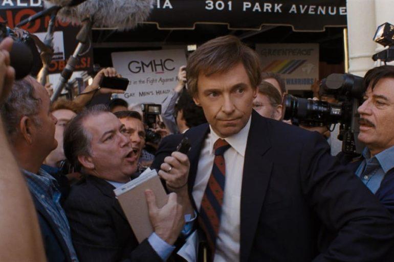 """Hugh Jackman en la película """"El candidato"""""""
