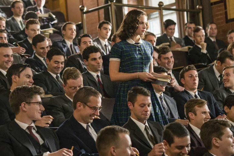 """Felicity Jones en """"Una cuestión de género"""""""