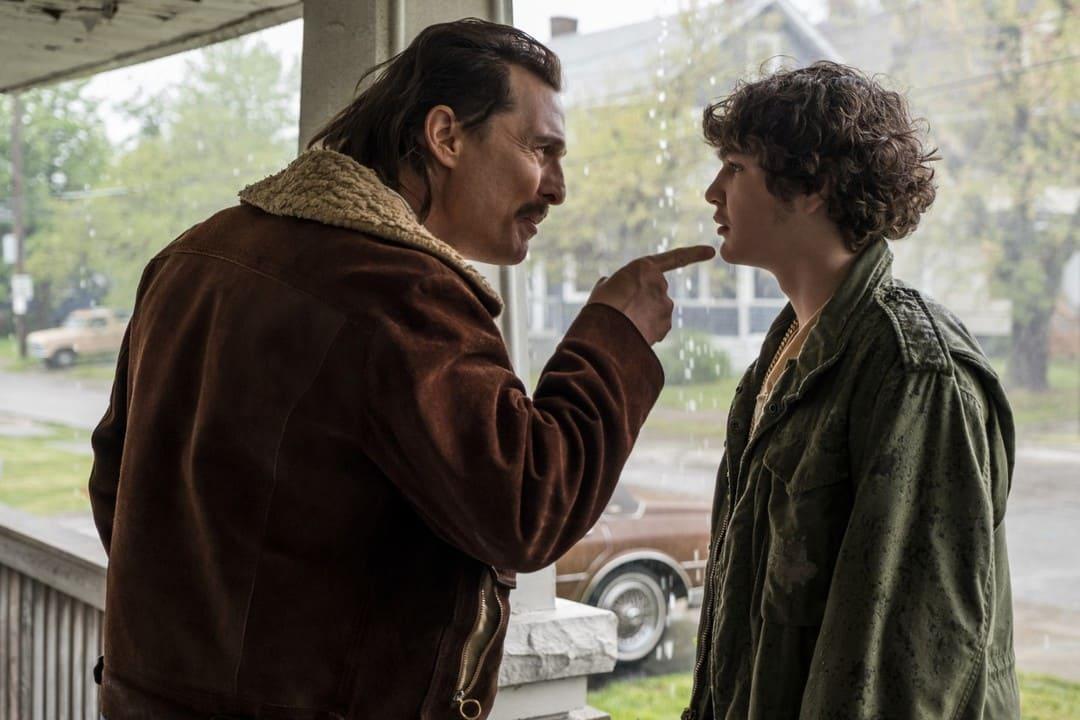 Matthew McConaughey y Richie Merritt en la película White Boy Rick