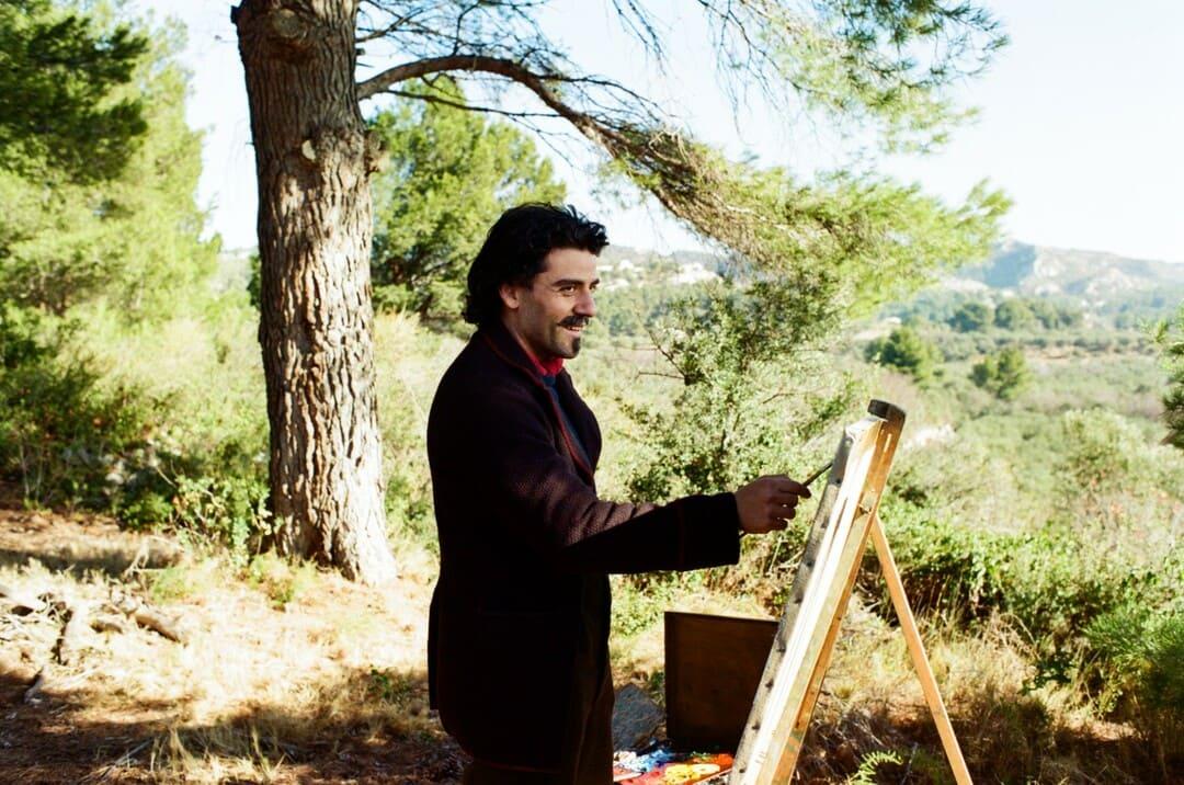 Oscar Isaac en la película Van Gogh: a las puertas de la eternidad