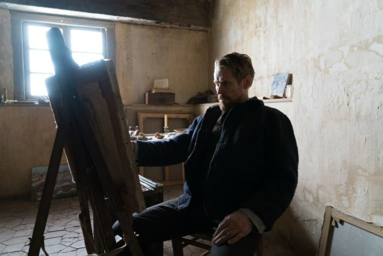 Willem Dafoe en la película: Van Gogh, a las puertas de la eternidad