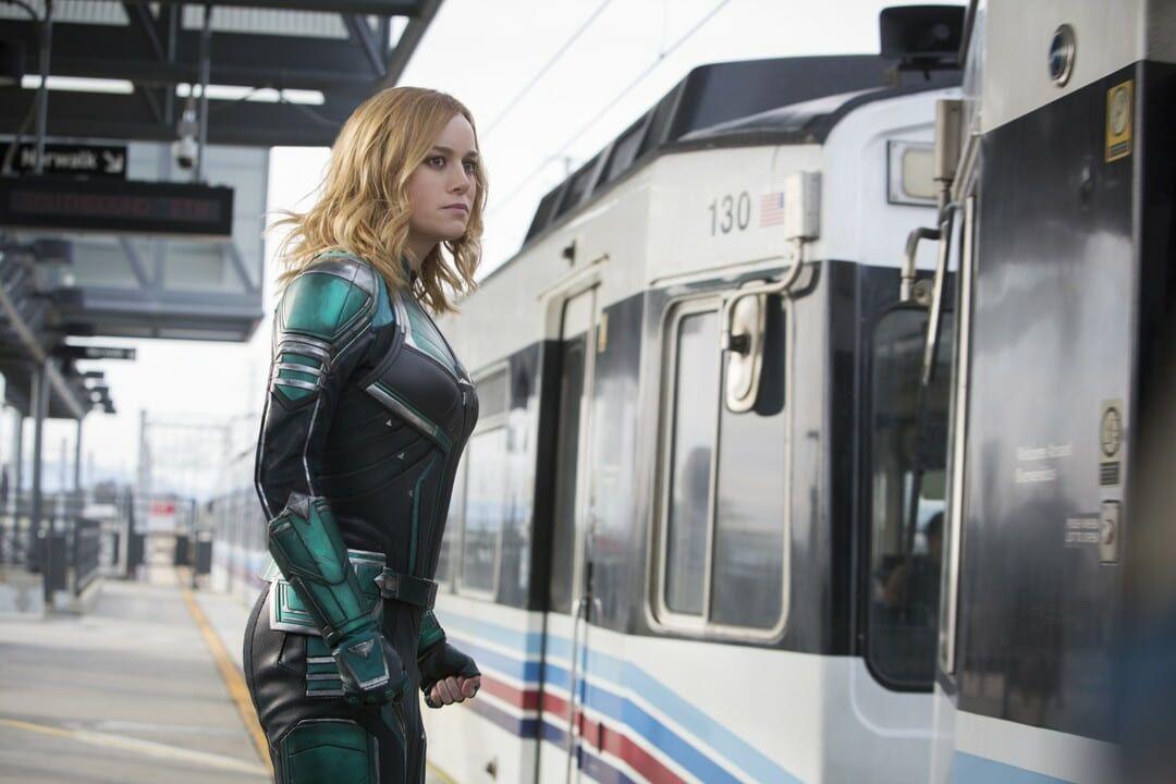 Brie Larson en Capitana Marvel