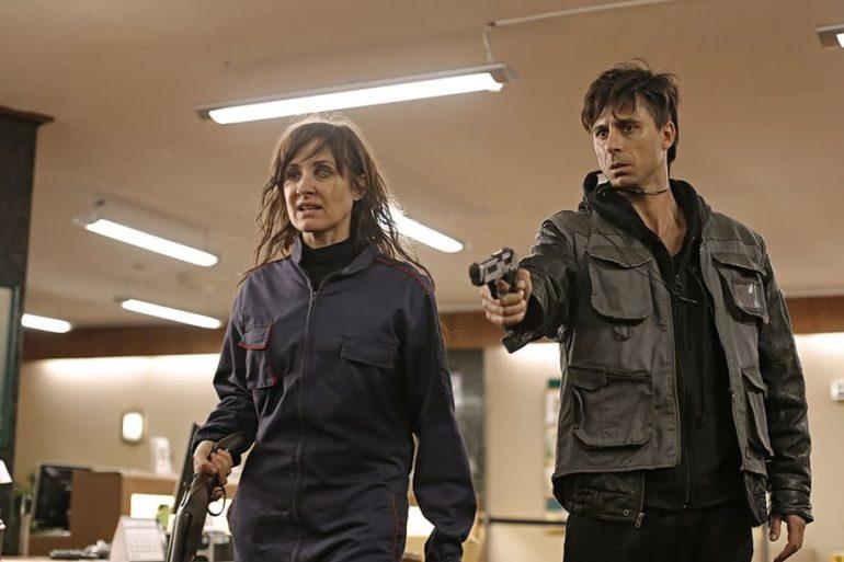 Hugo Silva y Nathalie Poza en la película 70 Binladens