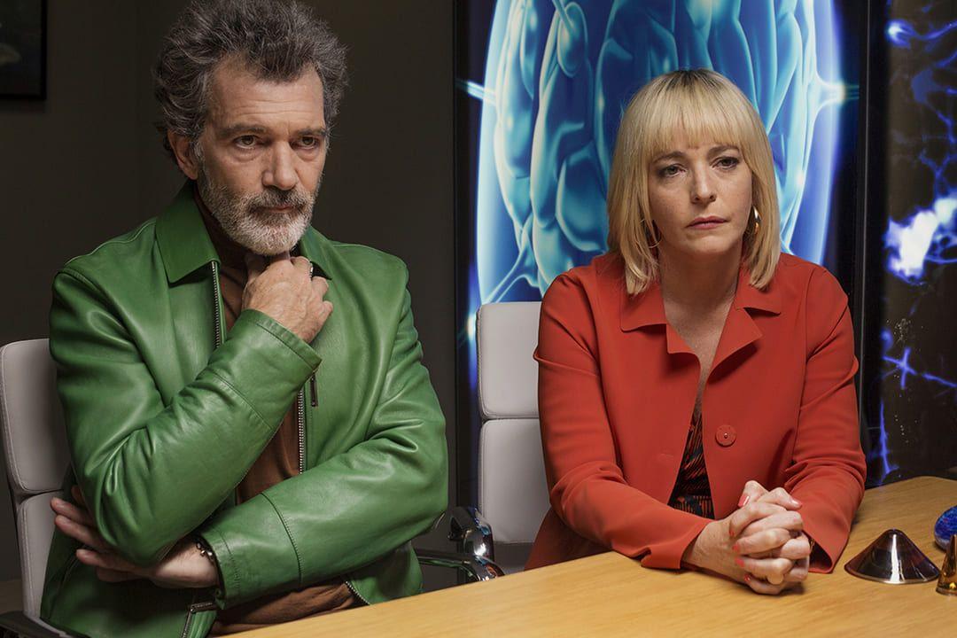 Antonio Banderas y Nora Navas en la película Dolor y Gloria