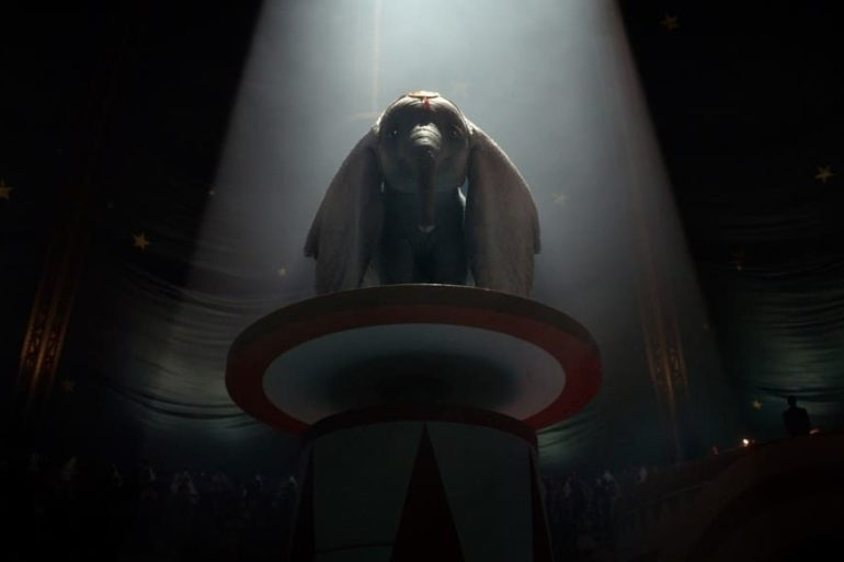 Imagen de la película Dumbo 2019