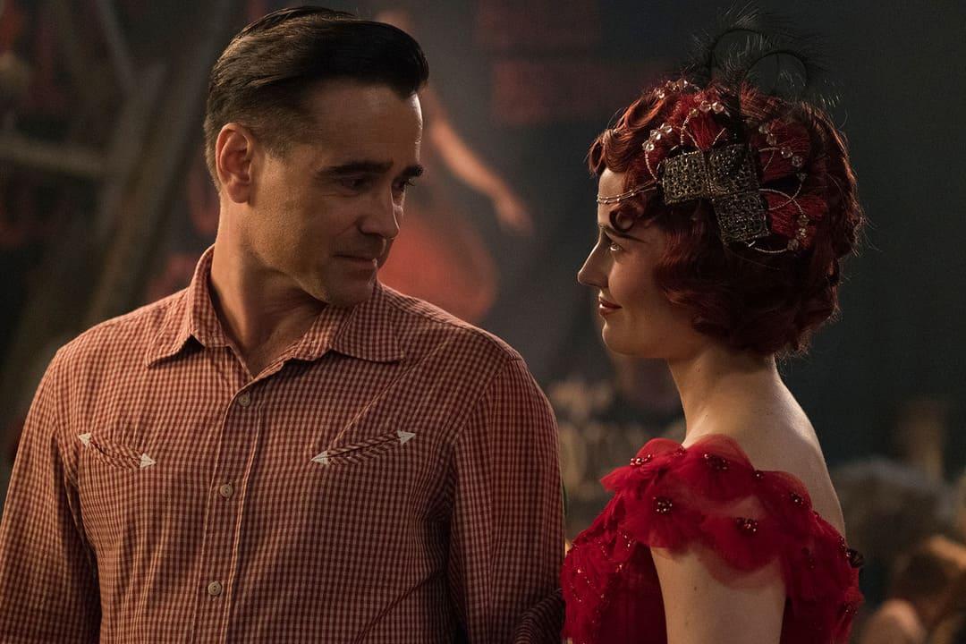 Colin Farrell y Eva Green en la película Dumbo