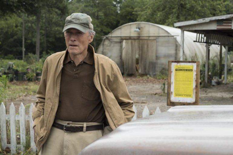 Clint Eastwood en la película Mula