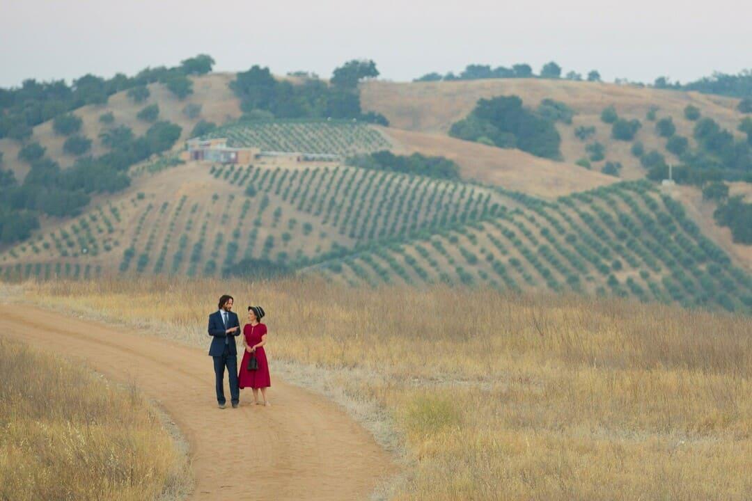 Keanu Reeves y Winona Ryder en La boda de mi ex