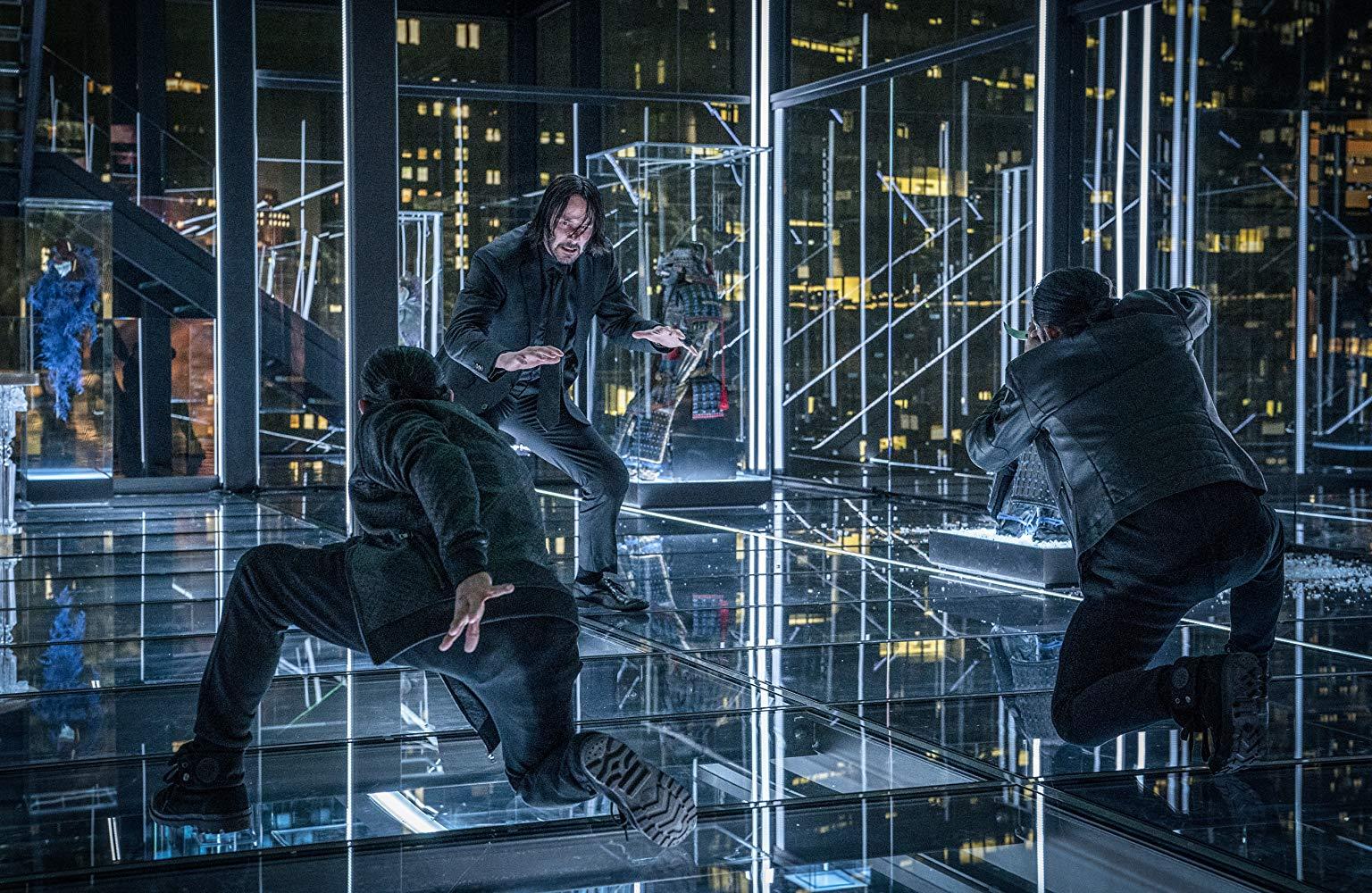 Keanu Reeves en una escena de John Wick 3 - Parabellum (2019).jpg