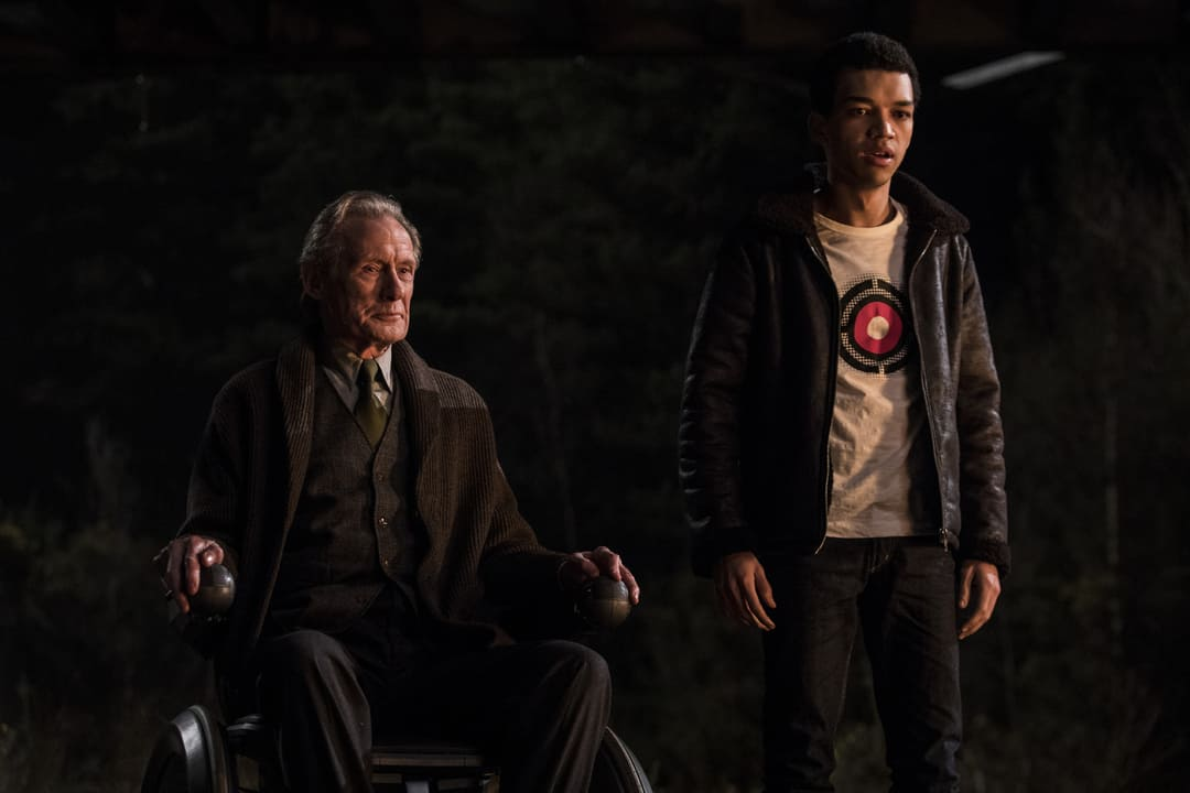 Bill Nighy y Justice Smith