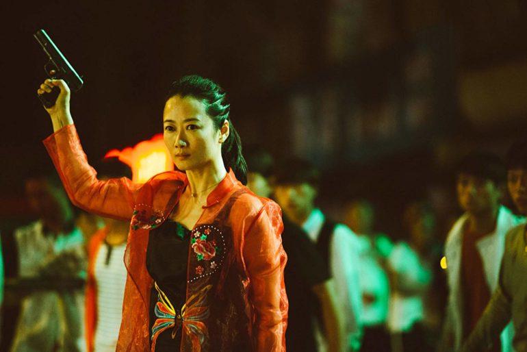 Tao Zhao en el rodaje de La ceniza es el blanco mas puro