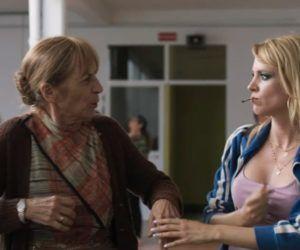 Maggie Civantos en la película Antes de la quema