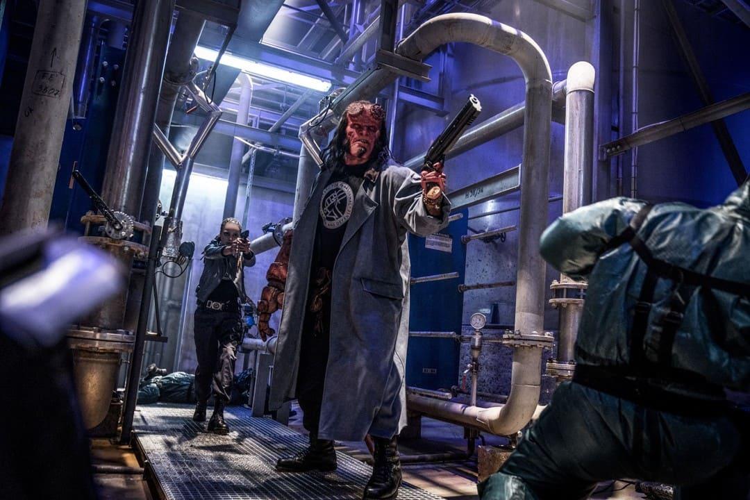 Imagen del remake de la película Hellboy 2019