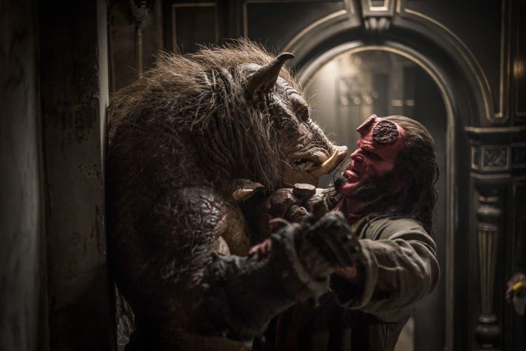 Una escena de la película Hellboy 2019