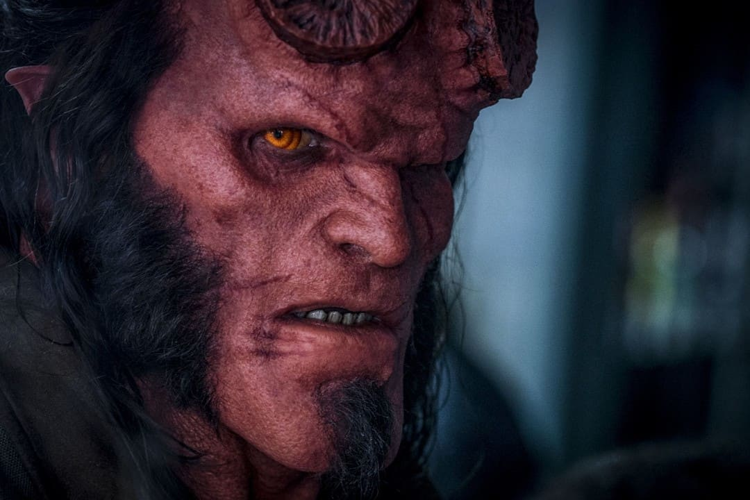 David Harbour es Hellboy