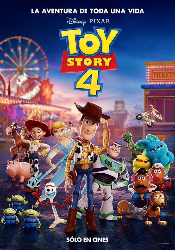 Cartel Toy Story 4