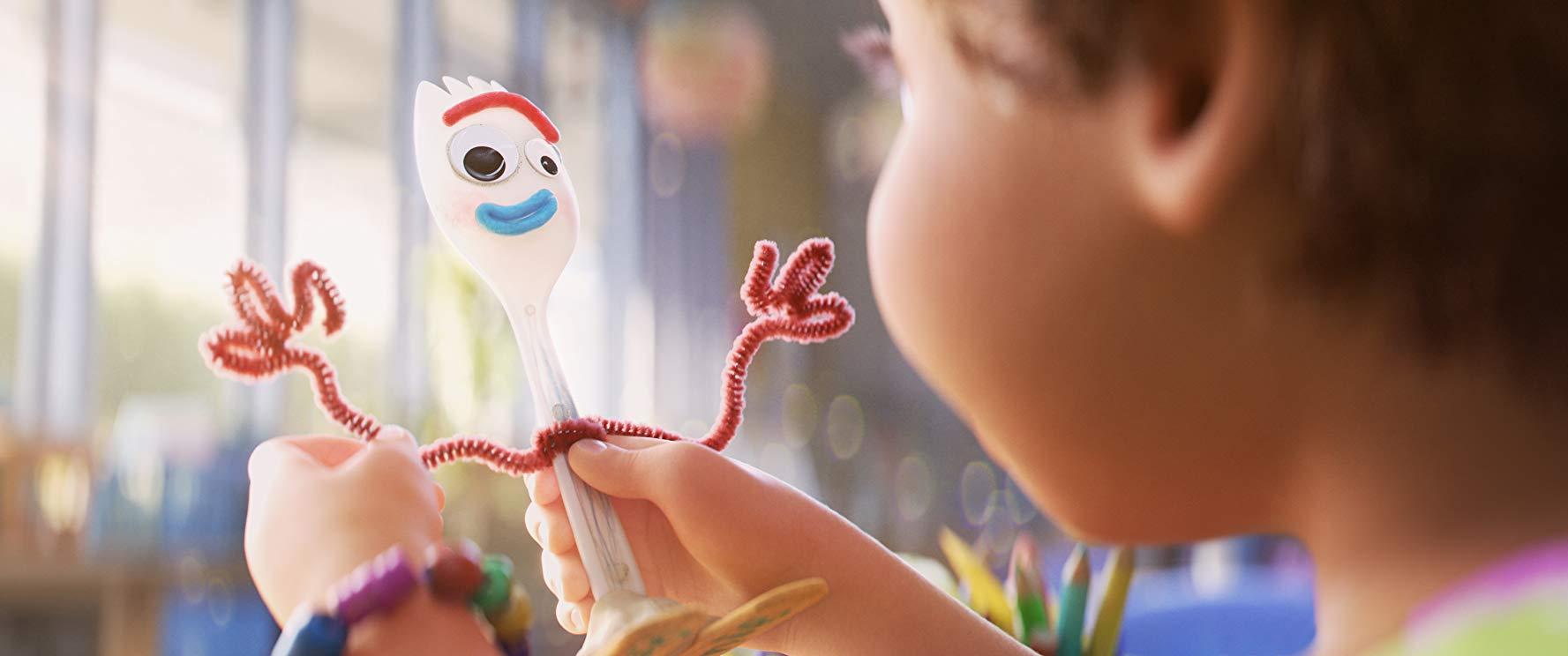 Foto de Forky en Toy Story 4