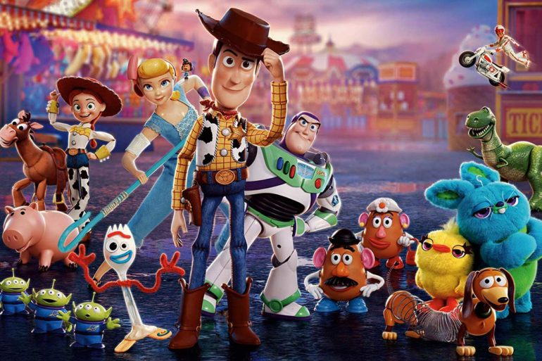 Todos los personajes de Toy Story 4