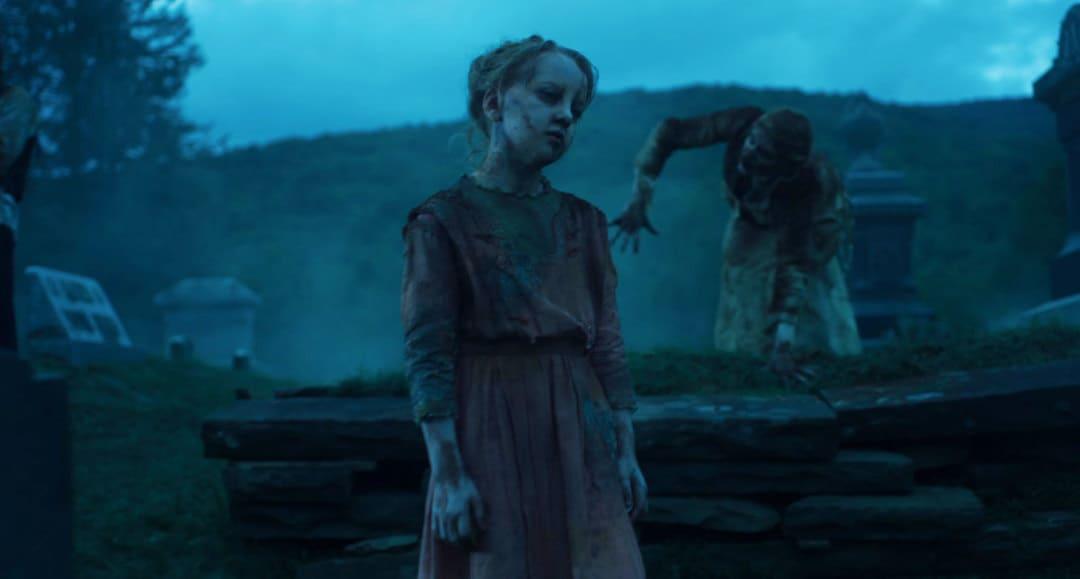 Un zombi de la película Los muertos no mueren