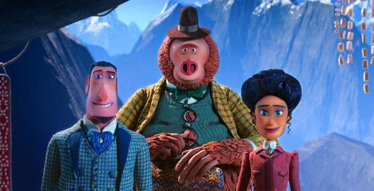 Los personajes principales de la película Mr Link