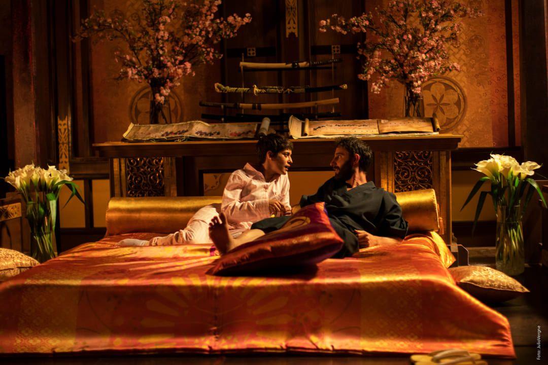 Dani Rovira y María León en la película Los Japón