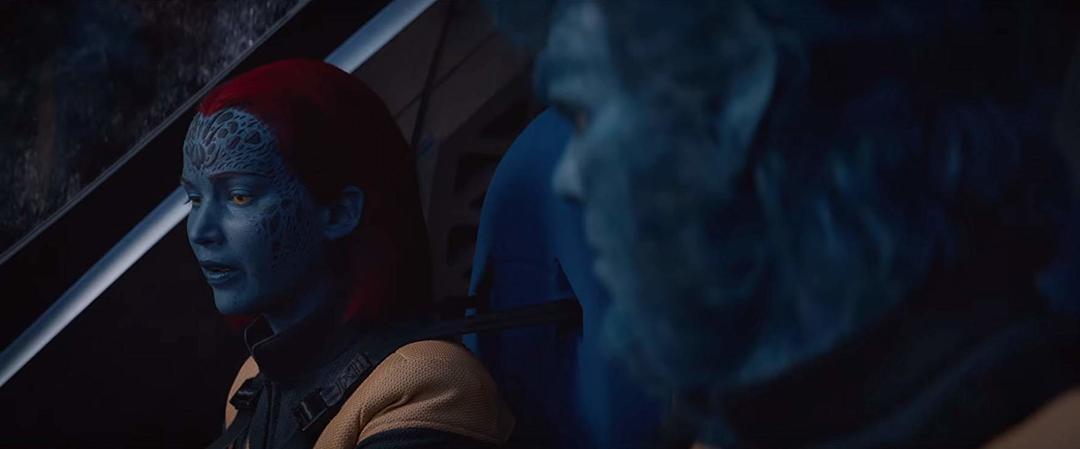 Nicholas Hoult y Jennifer Lawrence en la última entrega de X-MEN